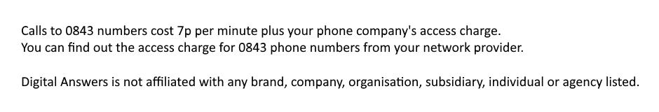 Call Halifax Telephone Banking on 0843 770 5033