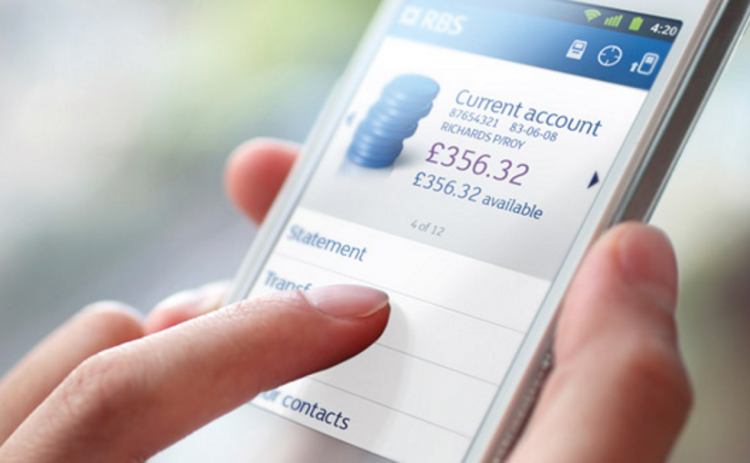 RBS payments and transfers digital banking